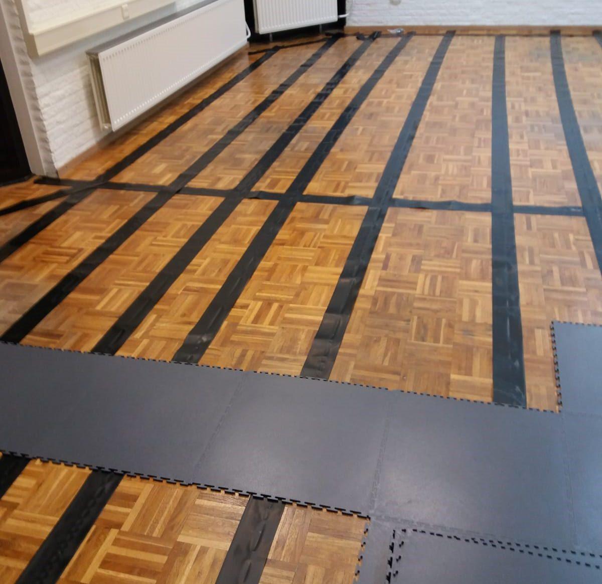 ESD vloer installatie ESD tegels