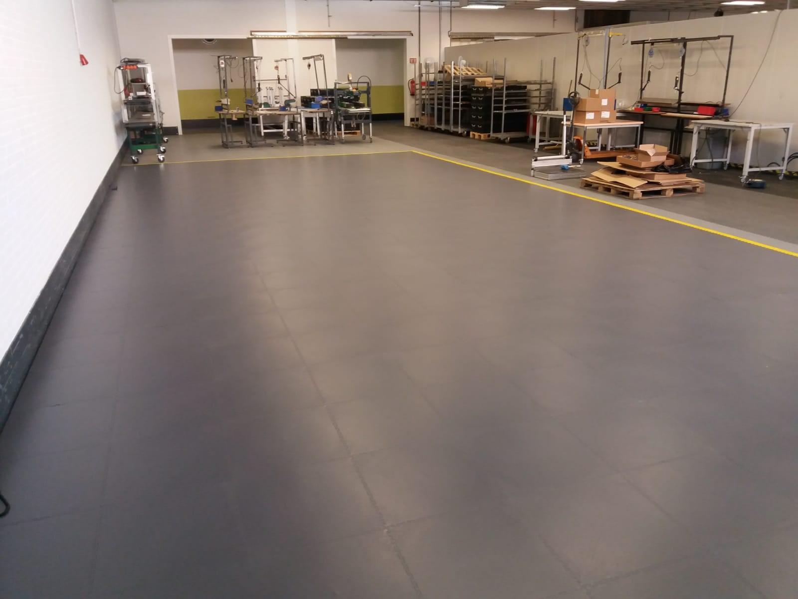 ESD vloer in fabriek